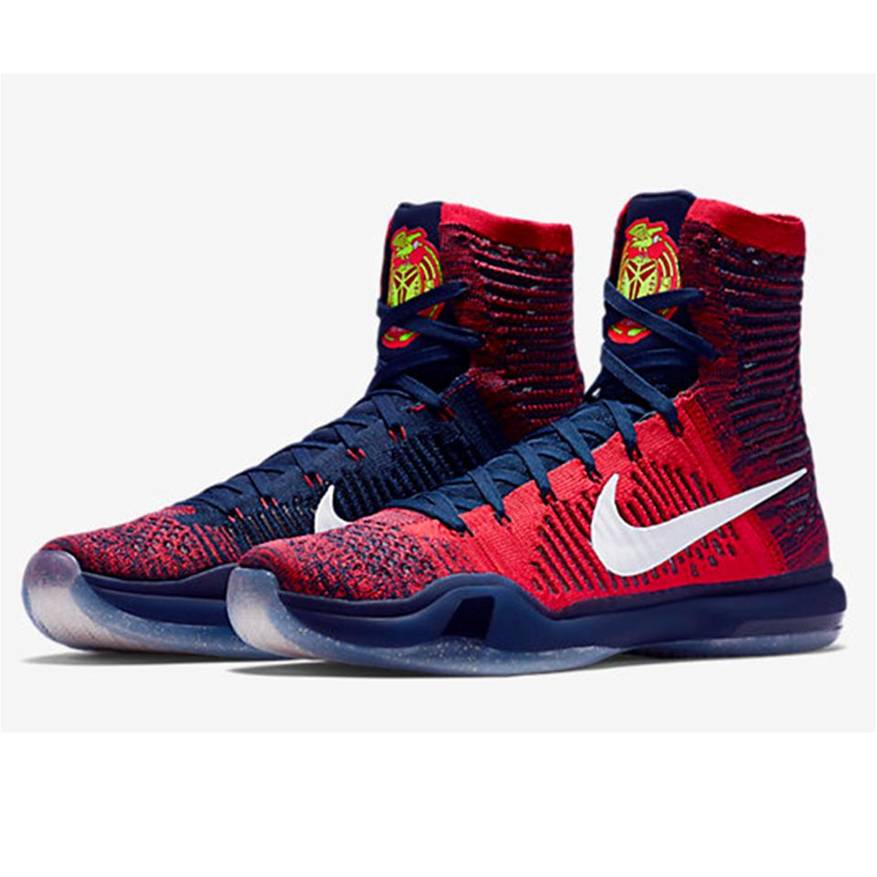 c7a99a1f3cba Nike Kobe X Elite Basket Ball Shoe Red and Blue - Buy Nike Kobe X ...