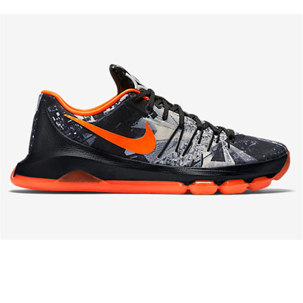 2bdb97cd636 Nike KD 8 limited Basket Ball Shoe Black and Orange - Buy Nike KD 8 ...