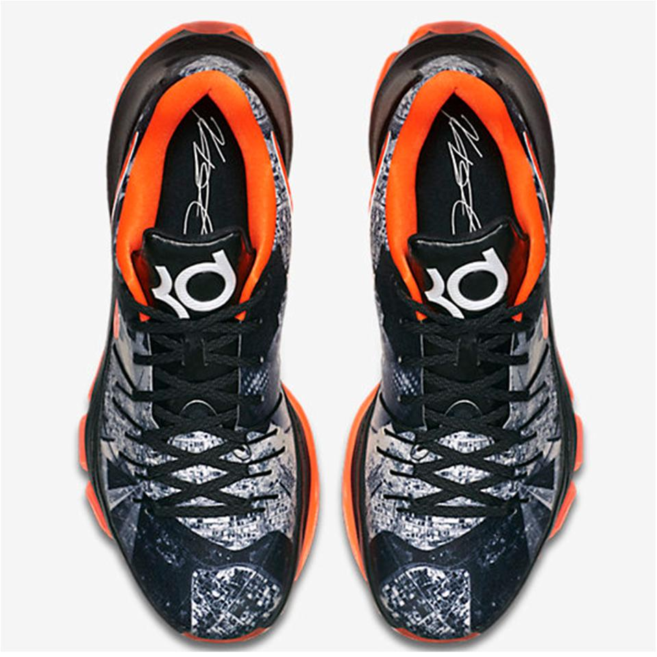 competitive price d27af 2df40 Nike KD 8 limited Basket Ball Shoe Black and Orange - Buy Nike KD 8 ...