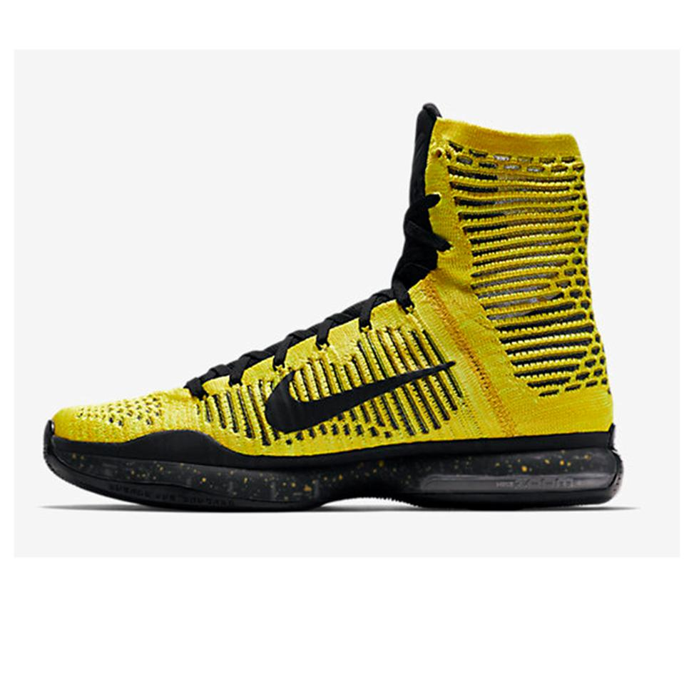 21f2431e5213 Nike Kobe X Elite Coda Basket Ball Shoe Yellow and Black - Buy Nike ...