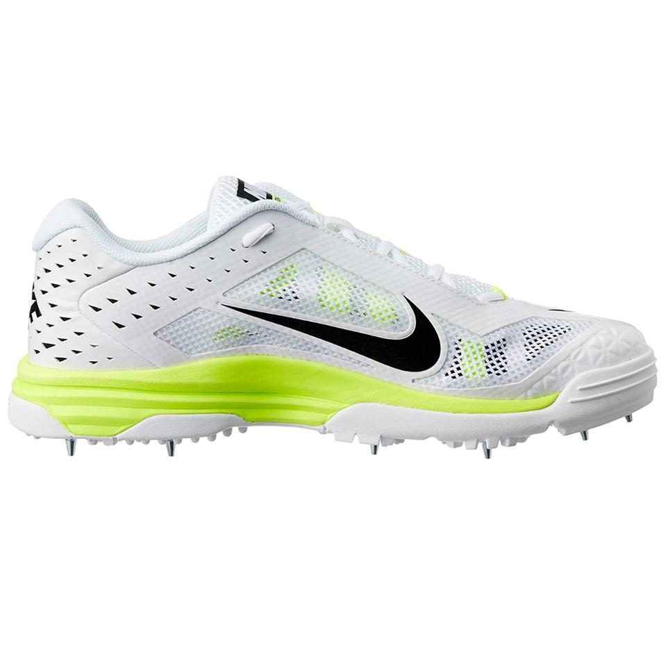 new product cdfce 7fada Nike Domain Cricket Spike Shoes White and Green