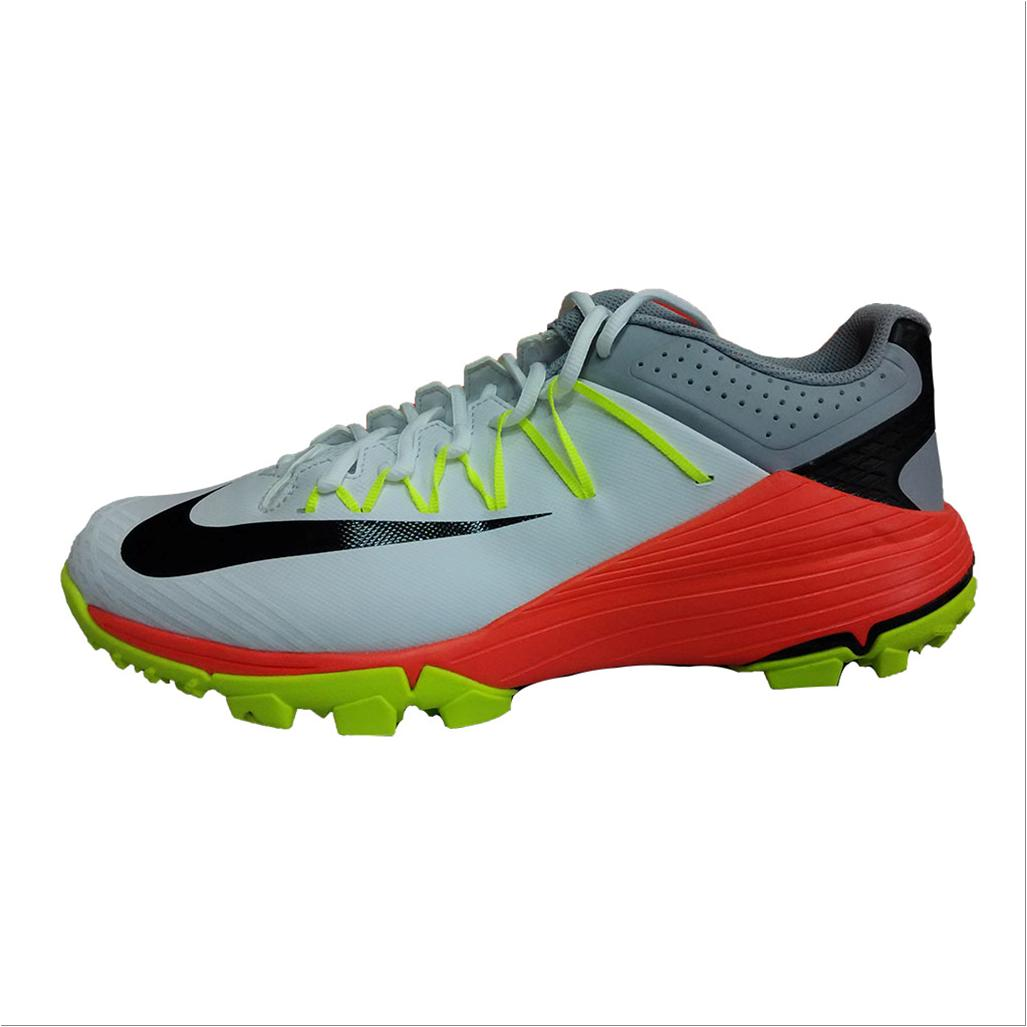 f367e447769a Nike Domain 2 NS Stud Cricket Shoes White Black and Lime - Buy Nike ...