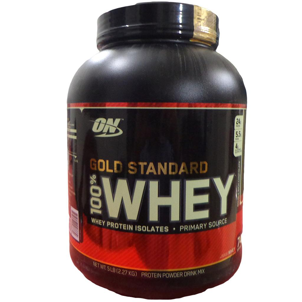 d72473497 ON (Optimum Nutrition) Gold Standard 100 % Whey Protein Double Rich ...