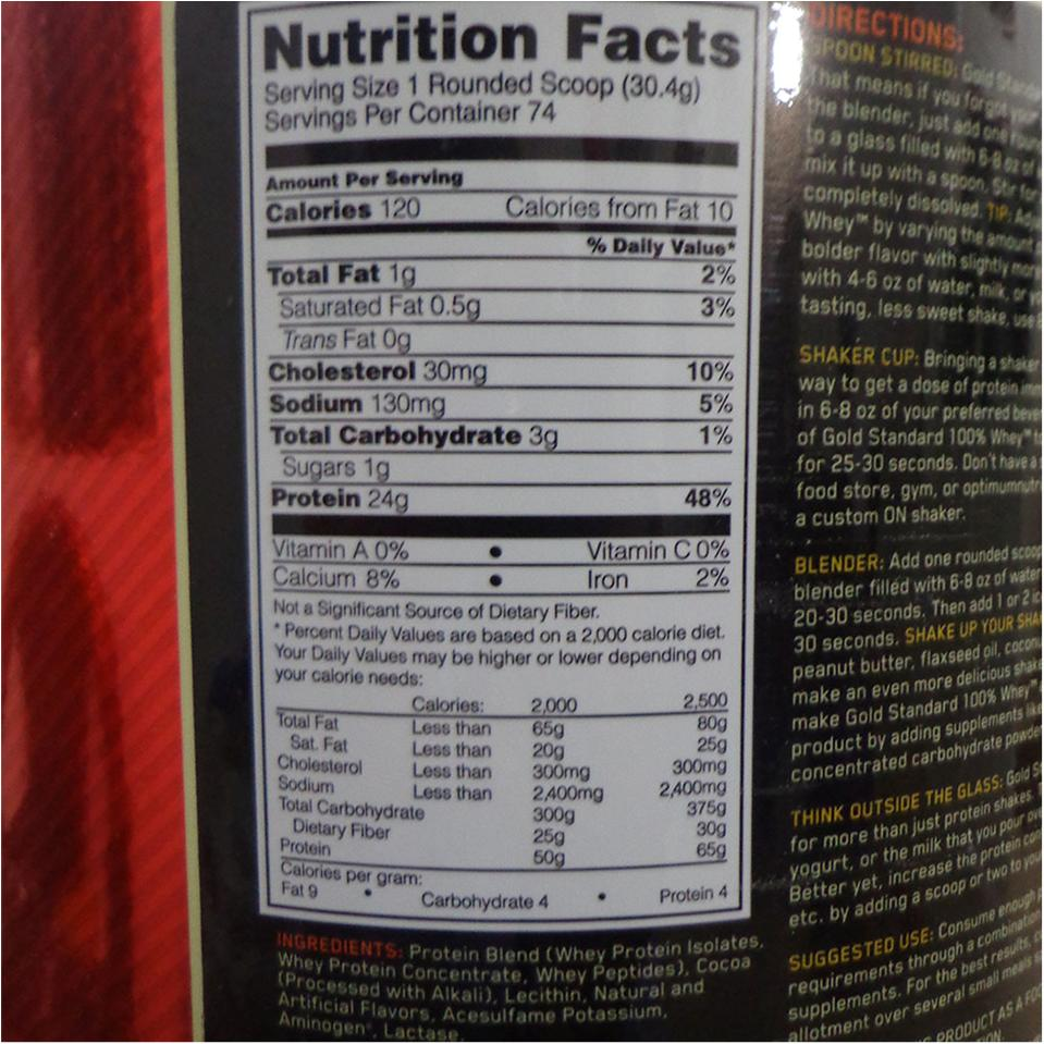 5c464f17a ON (Optimum Nutrition) Gold Standard 100 % Whey Protein Double Rich  Chocolate