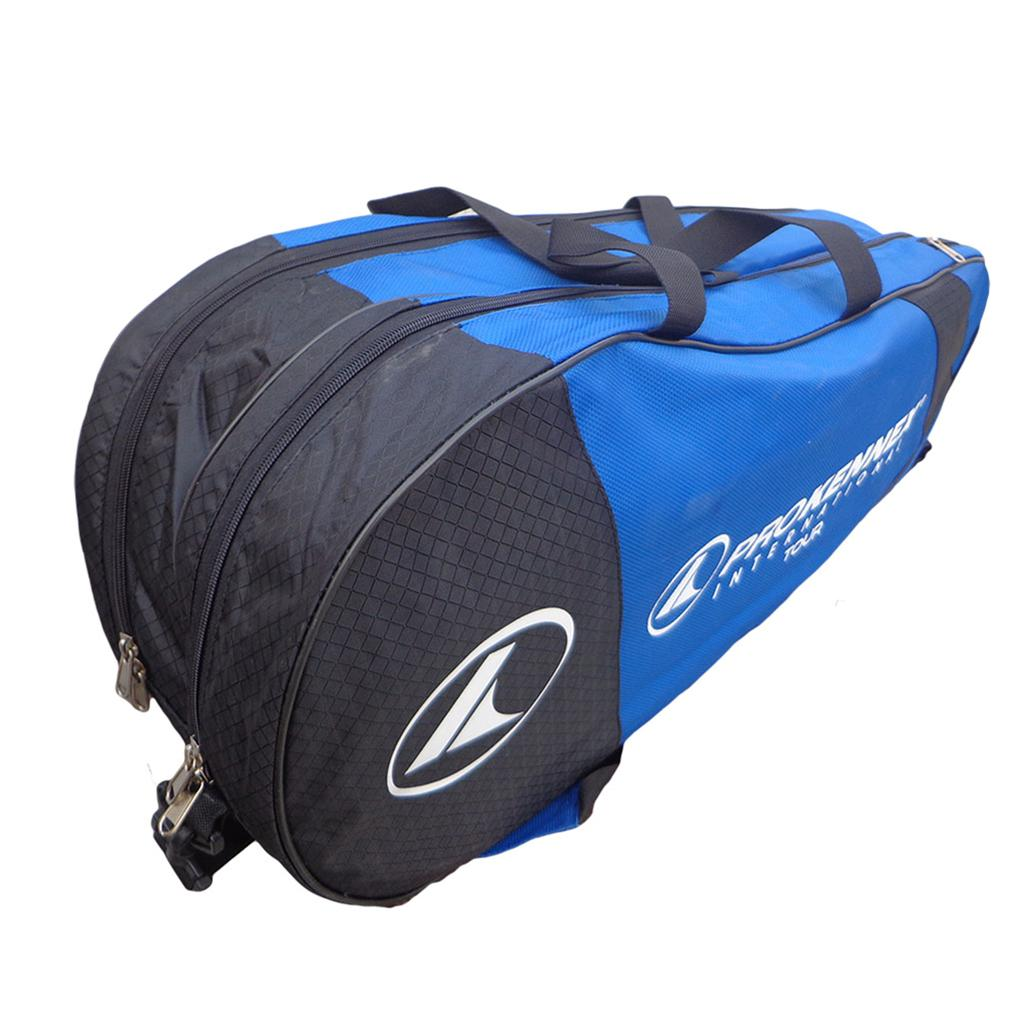 00f8dfc5b59 Prokennex International Tour Badminton Kit Bag Blue and Black - Buy ...