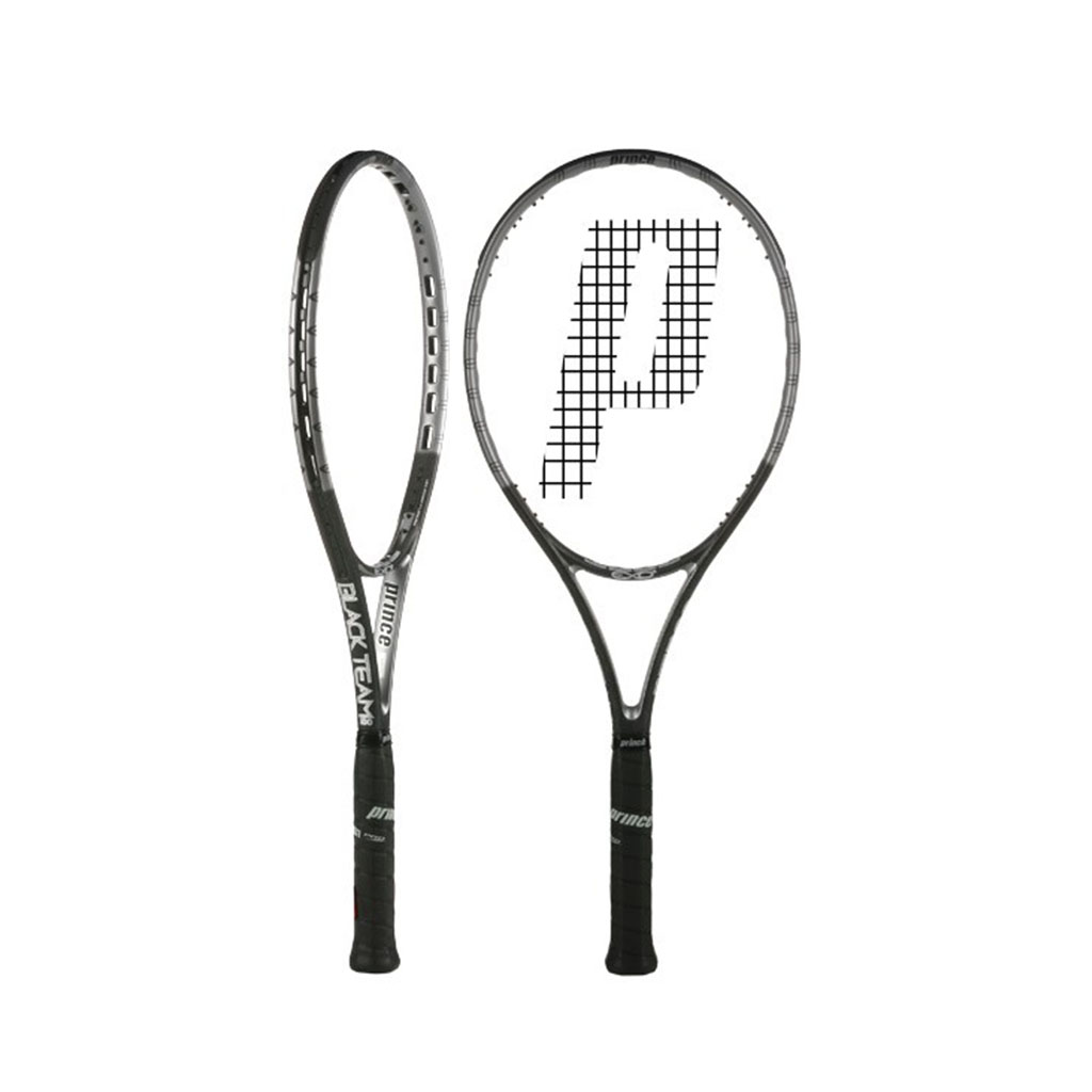 Prince EXO3 Black Team 100 Tennis Racquet - Buy Prince EXO3 Black ... 9f9ed004d8f83