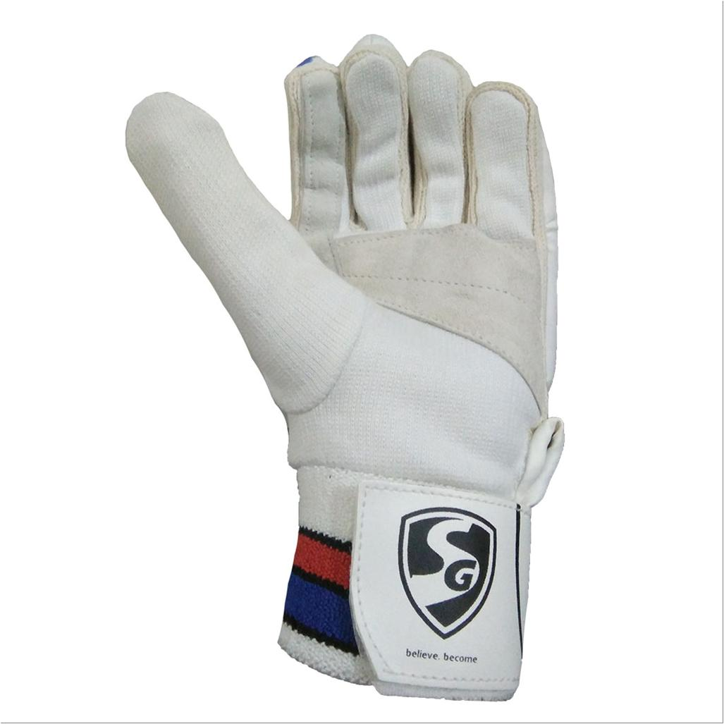 Sg Club Cricket Batting Gloves White And Blue Rh Buy Sg