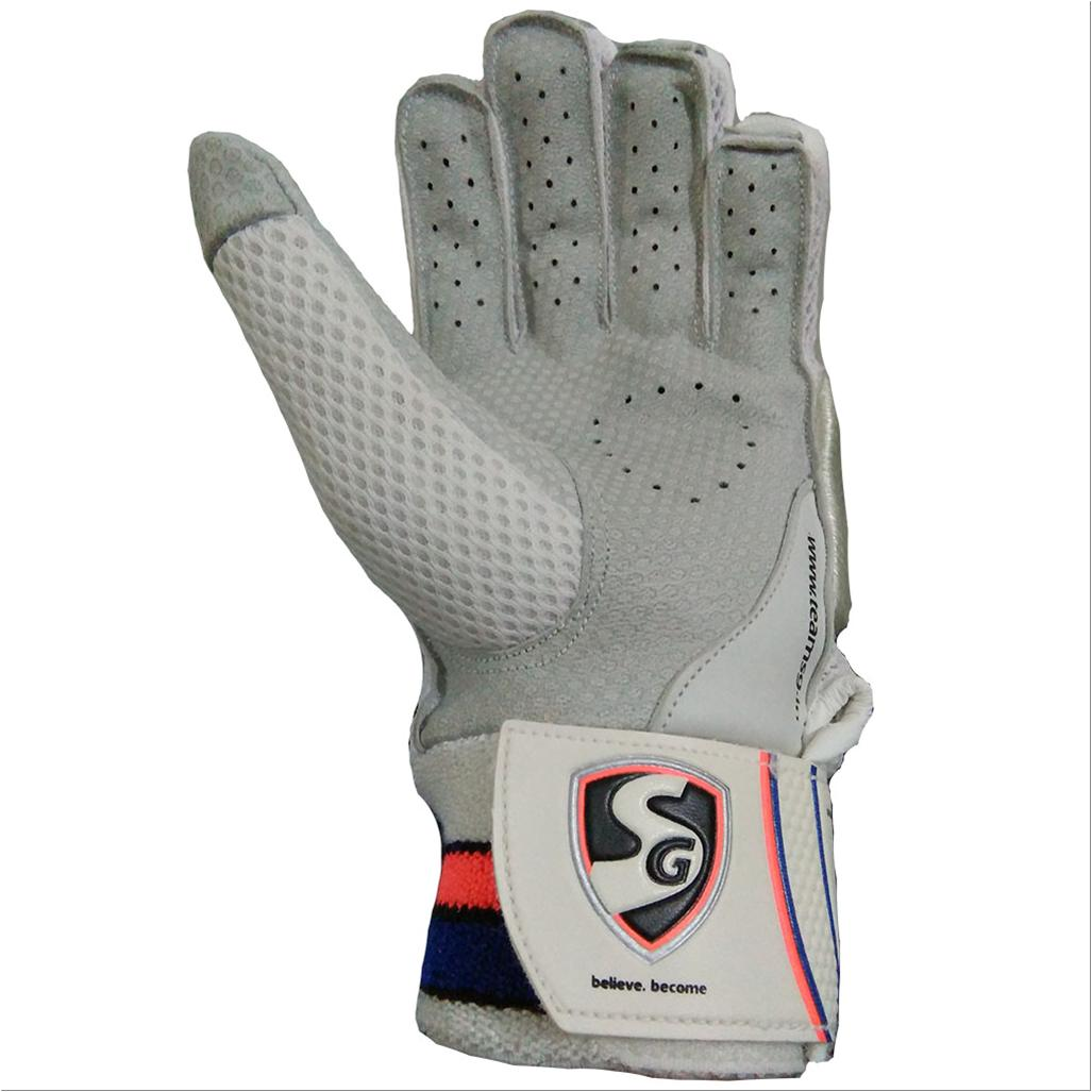 Sg Hilite Cricket Batting Gloves White And Blue Buy Sg