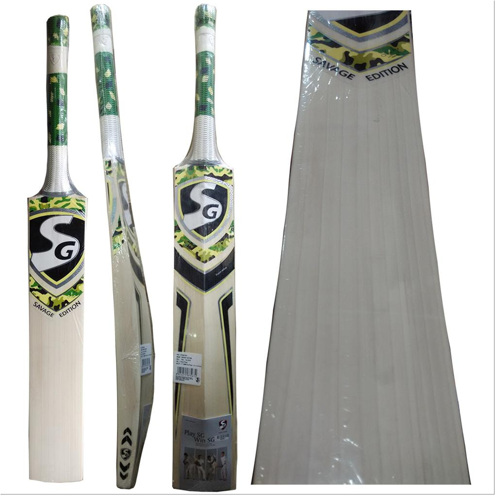 54045fe6d SG Savage Edition English Willow Cricket Bat - Buy SG Savage Edition ...
