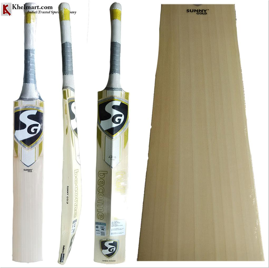 27108c6037f SG Sunny Gold English Willow Cricket Bat Standard Size Free oiling ...