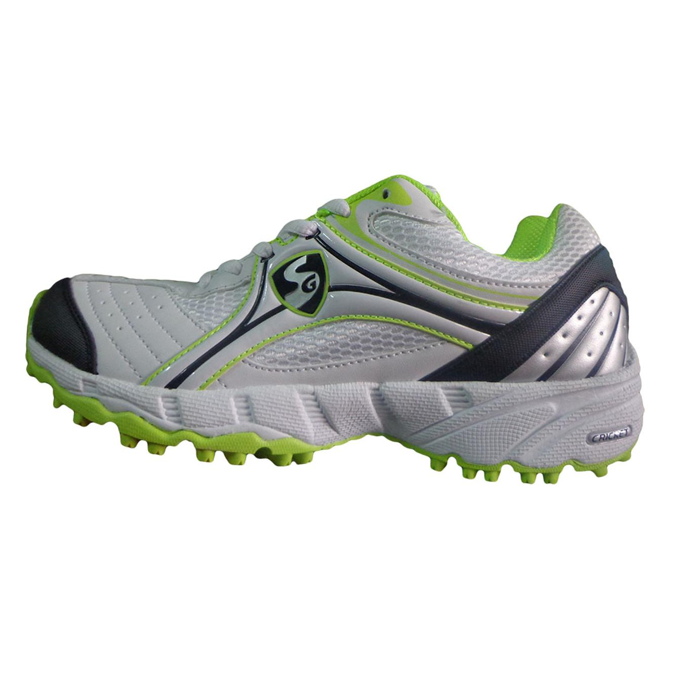 Sg Steadler Iv Cricket Shoes White Lime And Black Buy Sg