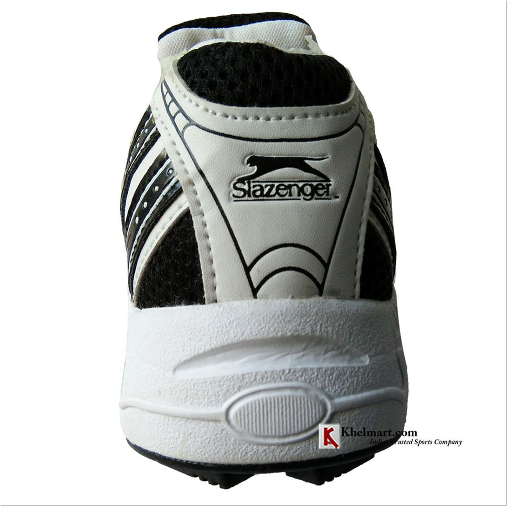 Slazenger Stealth Cricket Shoes White and Black