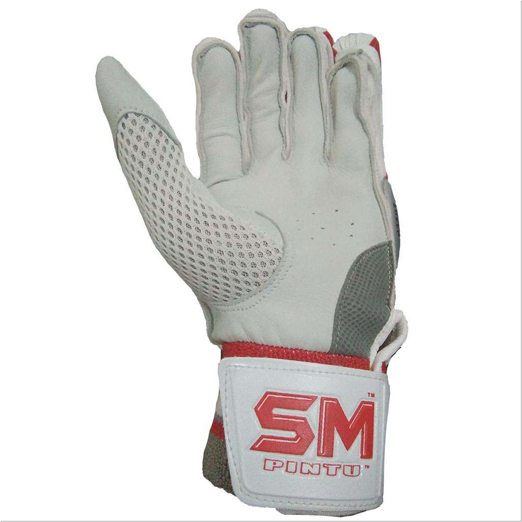 Sm Wrecker Batting Gloves White And Black Buy Sm Wrecker