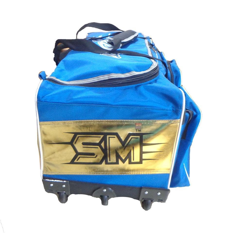 Sm Play On Series Cricket Kit Bag With Trolly Buy Sm Play On Series Cricket Kit Bag With