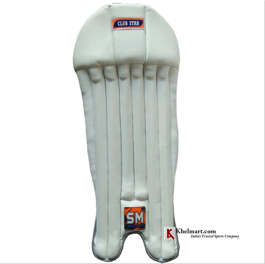 Sm Club Star Cricket Wicket Keeping Leg Guard Buy Sm