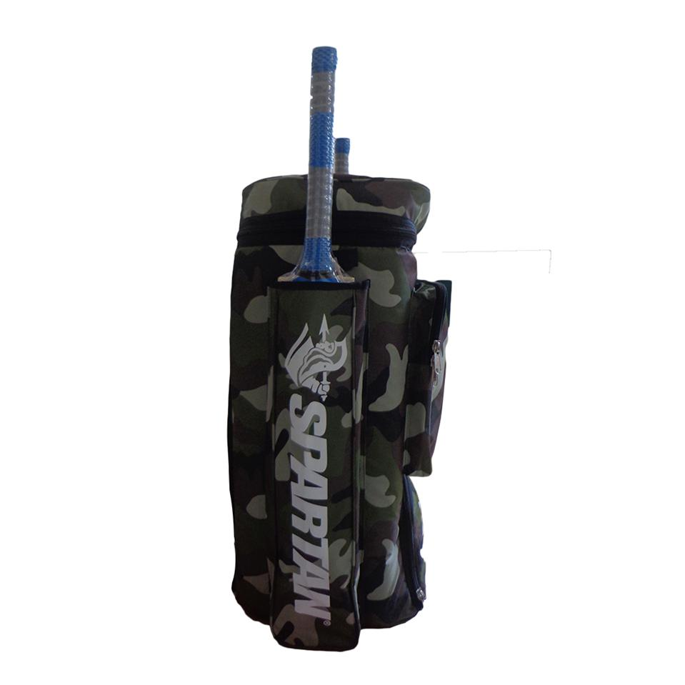 spartan ms dhoni camo cricket kit bag