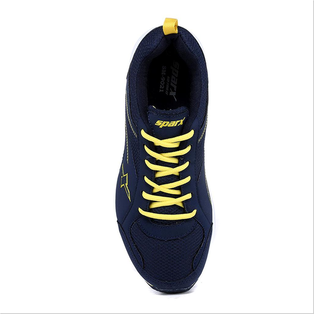 Sparx Running Shoes Navy Blue And Yellow Buy Sparx