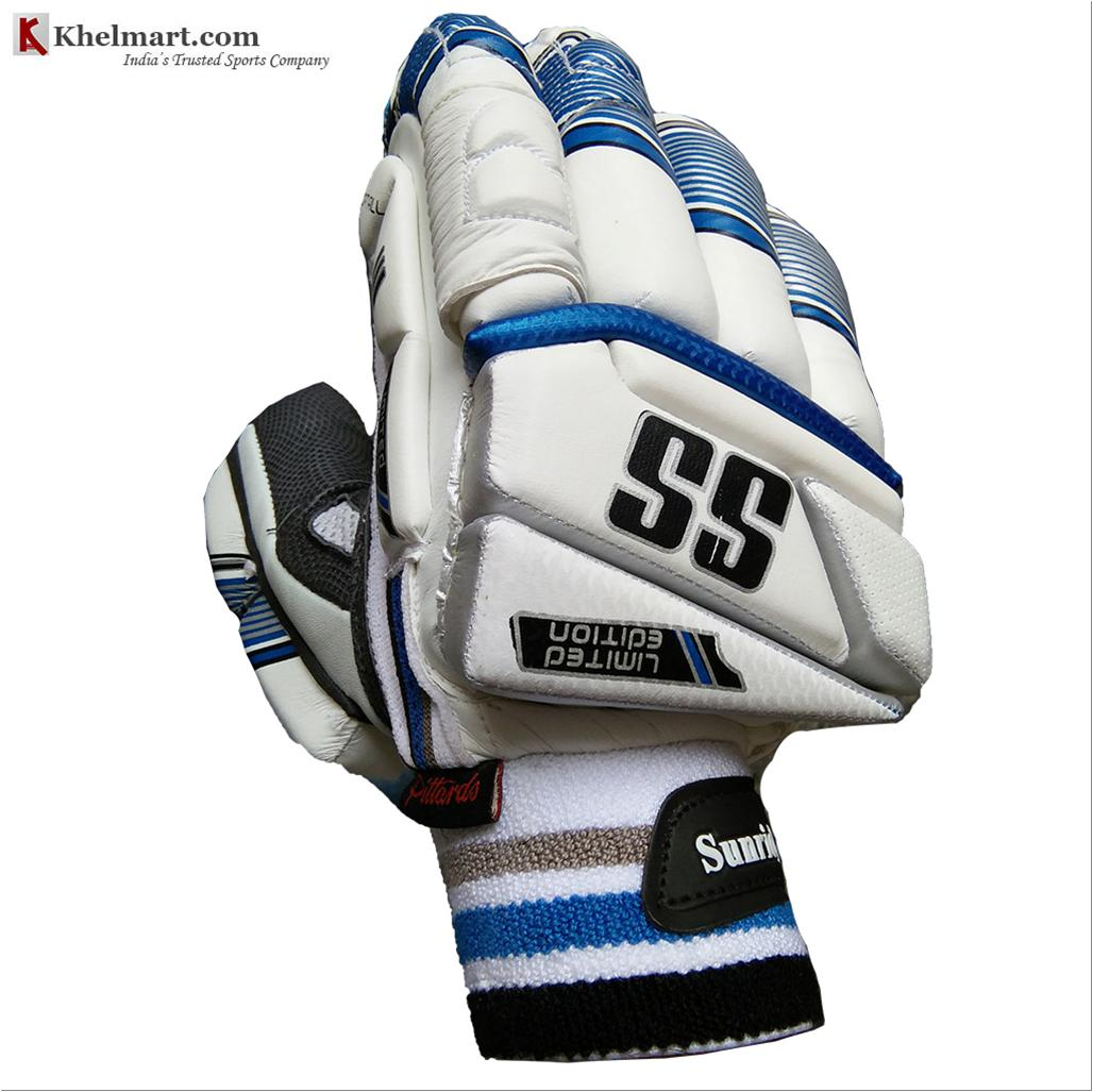 f1dca9779e6 SS Limited Edition Cricket Batting Gloves White