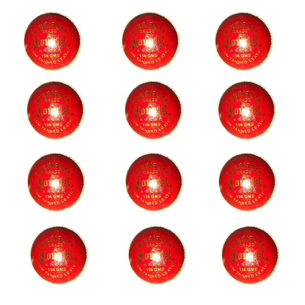 c43fd8902ce SS County Alum Tanned 12 Ball Set Cricket Ball - Buy SS County Alum ...
