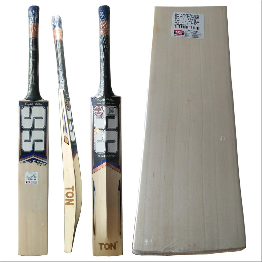 76b3e0c9edb SS Premium English Willow Cricket Bat Standard Size - Buy SS Premium ...