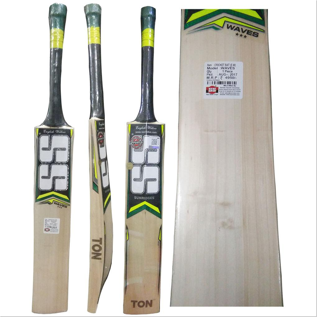 6b26158c963 SS Waves English Willow Cricket Bat Standard Size - Buy SS Waves ...