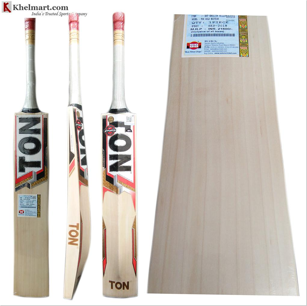 f886c8e10 SS Gold Edition English Willow Cricket Bat Standard Size Free Oiling ...