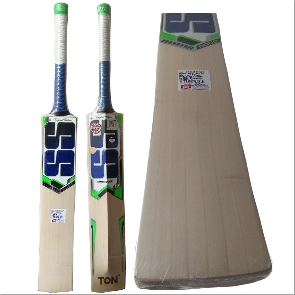 19d069c1d SS Master 5000 English Willow Cricket Bat - Buy SS Master 5000 ...