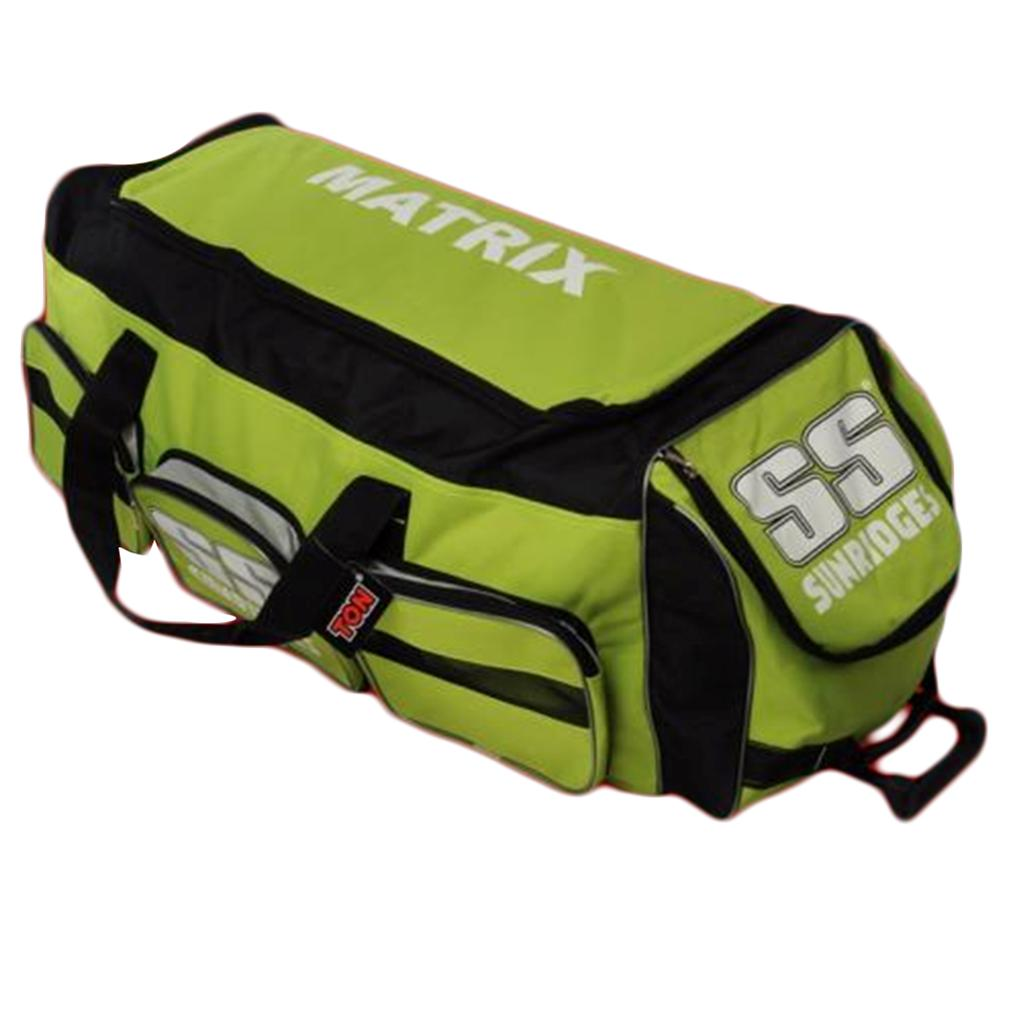 3811f208e SS Cricket Kit Bag Matrix Lime and Black - Buy SS Cricket Kit Bag ...