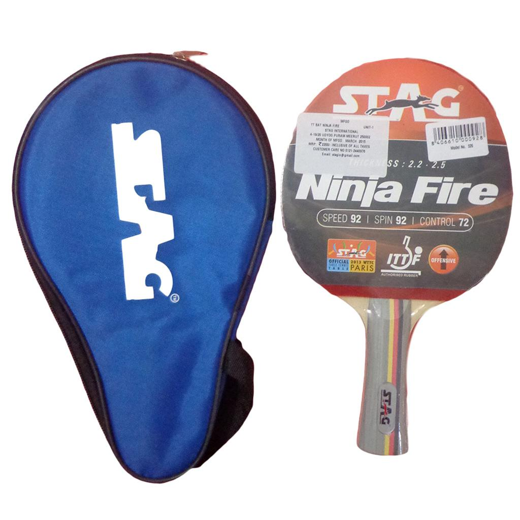 78bf95fe5d Stag Ninja Fire Table Tennis Racquet - Buy Stag Ninja Fire Table ...