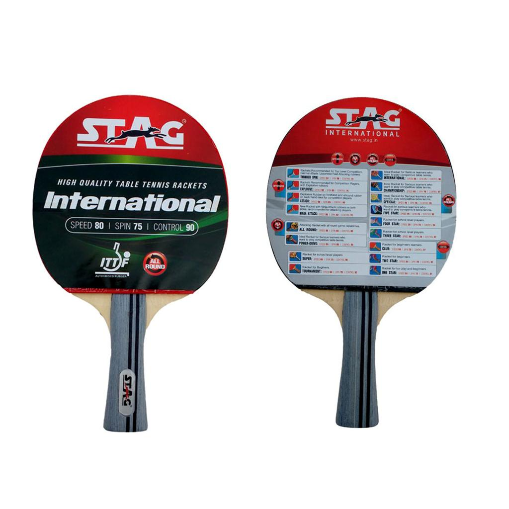 e37d82e8c Stag International Table Tennis Racquet - Buy Stag International ...