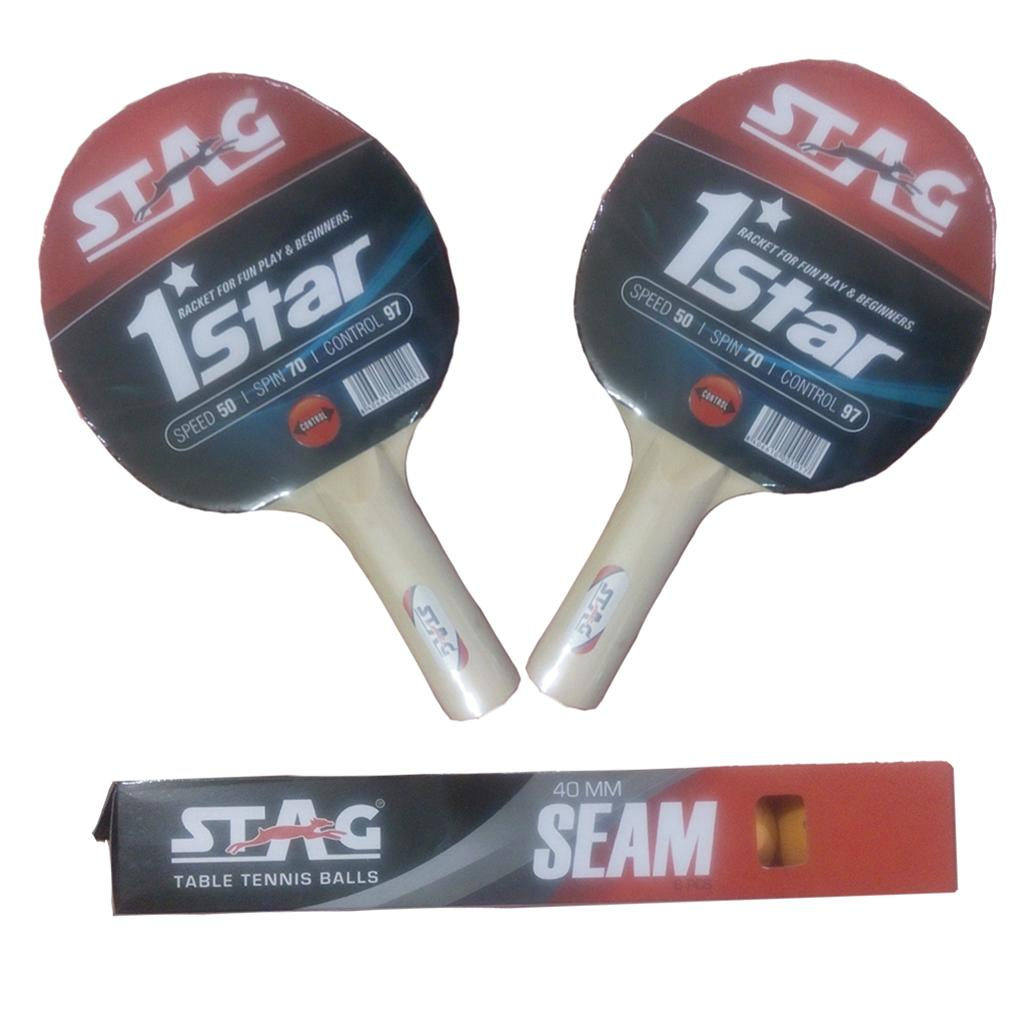 7583e7832 Set Of 2 Stag 1 Star T.T.Bat and T.T.Ball - Buy Set Of 2 Stag 1 Star ...