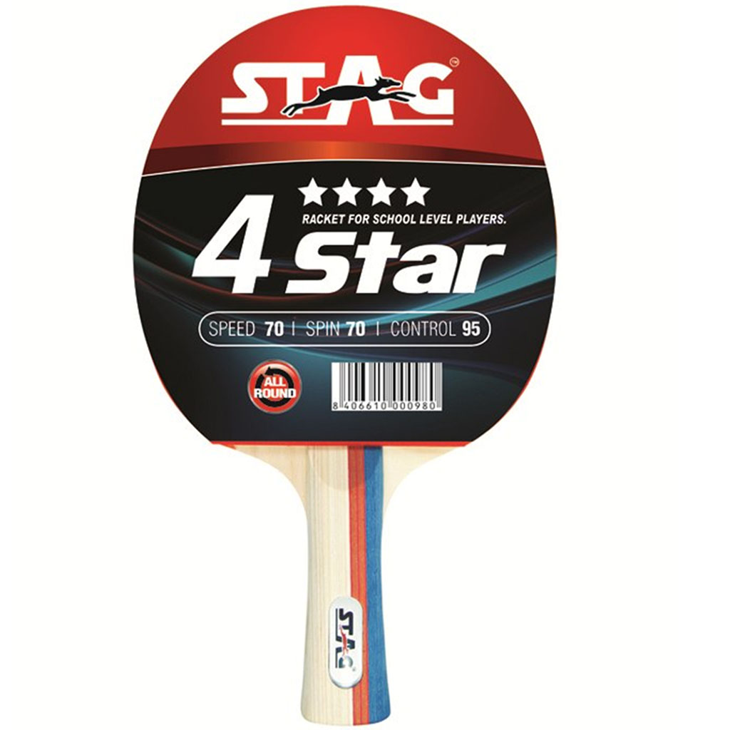 8d1170ace Stag 4 Star Table Tennis Racquet - Buy Stag 4 Star Table Tennis ...