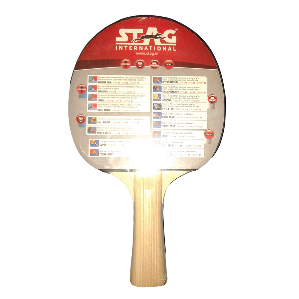 705e8cdcb Stag 2 Star Table Tennis Racquet - Buy Stag 2 Star Table Tennis ...