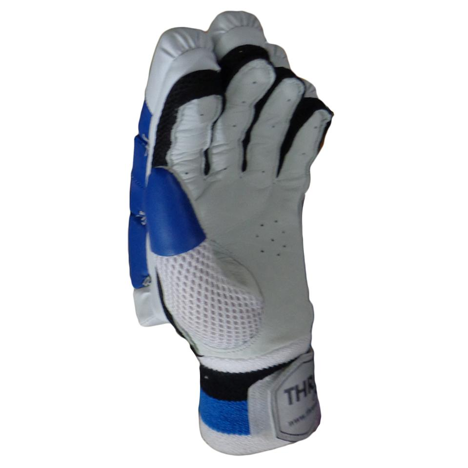 Thrax Duro 11 Cricket Batting Gloves Blue And White Buy