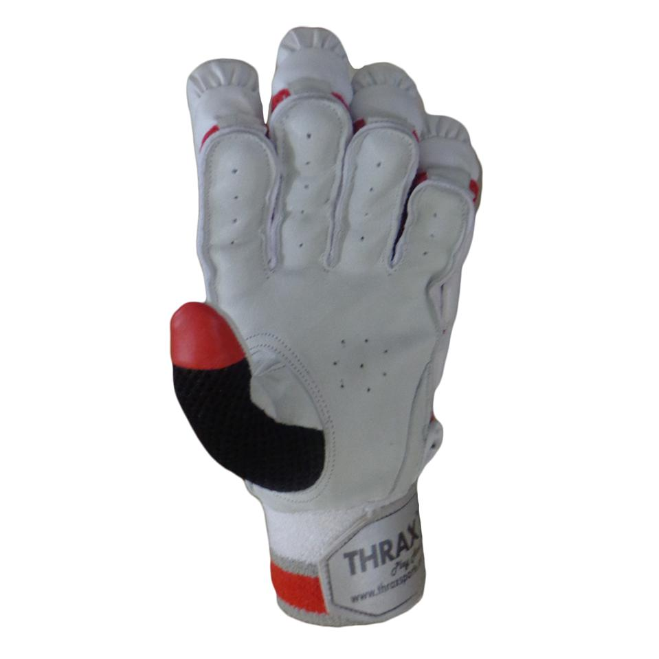 2f0887a1c55 Thrax Limited Edition Batting Gloves White and Red - Buy Thrax ...