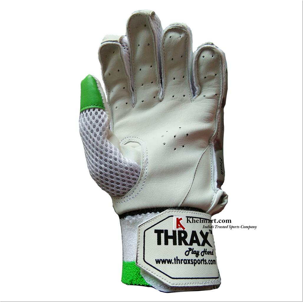 Thrax Upper Cut Batting Gloves Green Buy Thrax Upper Cut
