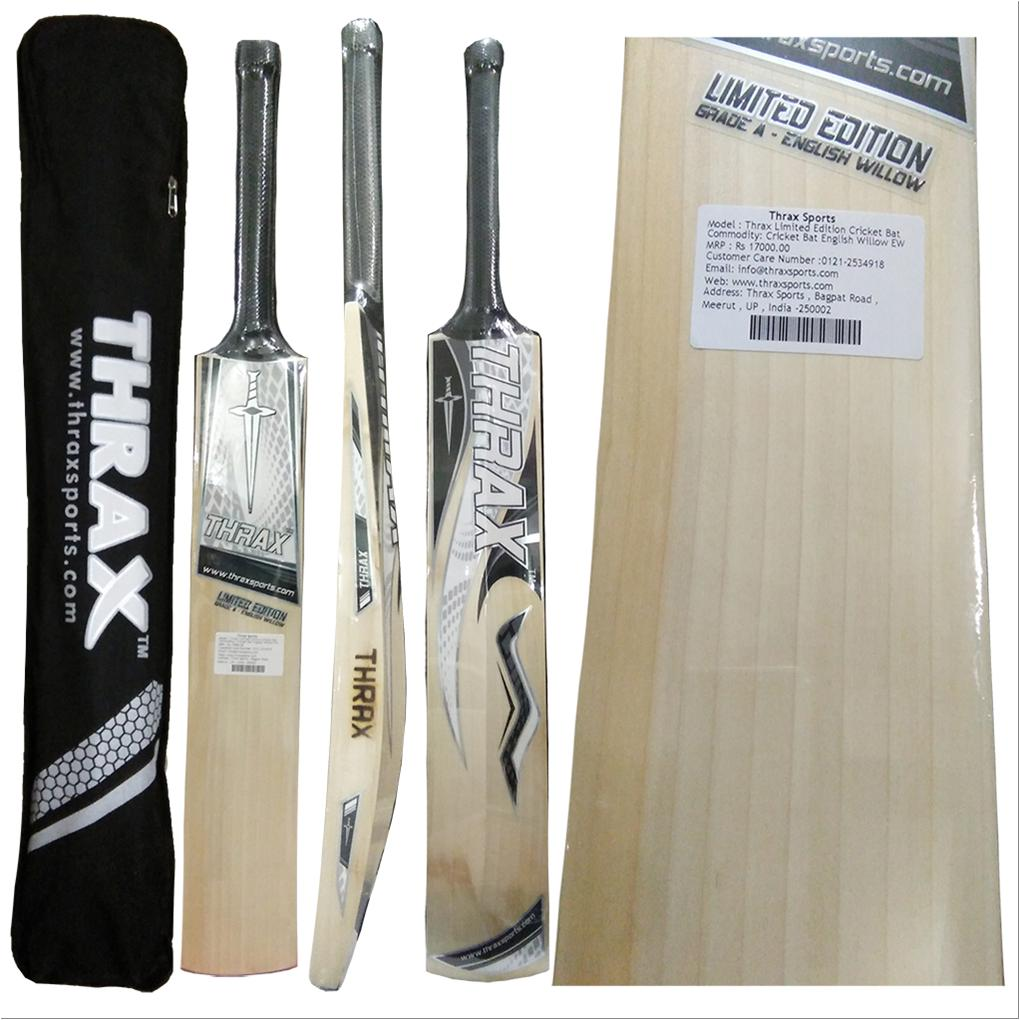 74d0bd7df Thrax Limited Edition English Willow Cricket bat - Buy Thrax Limited ...