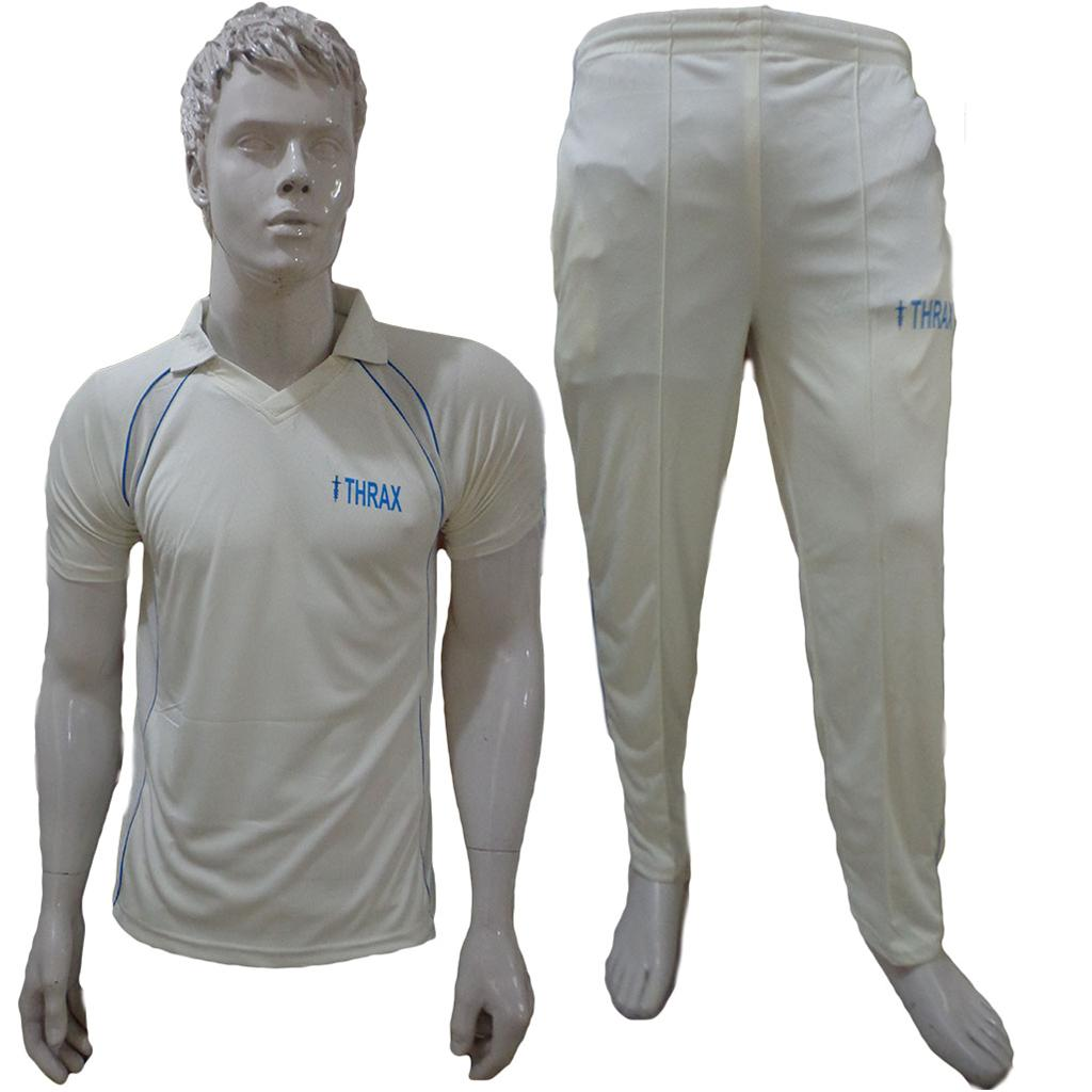 Thrax Cricket Clothing Half Sleeve T Shirt And Lower Size