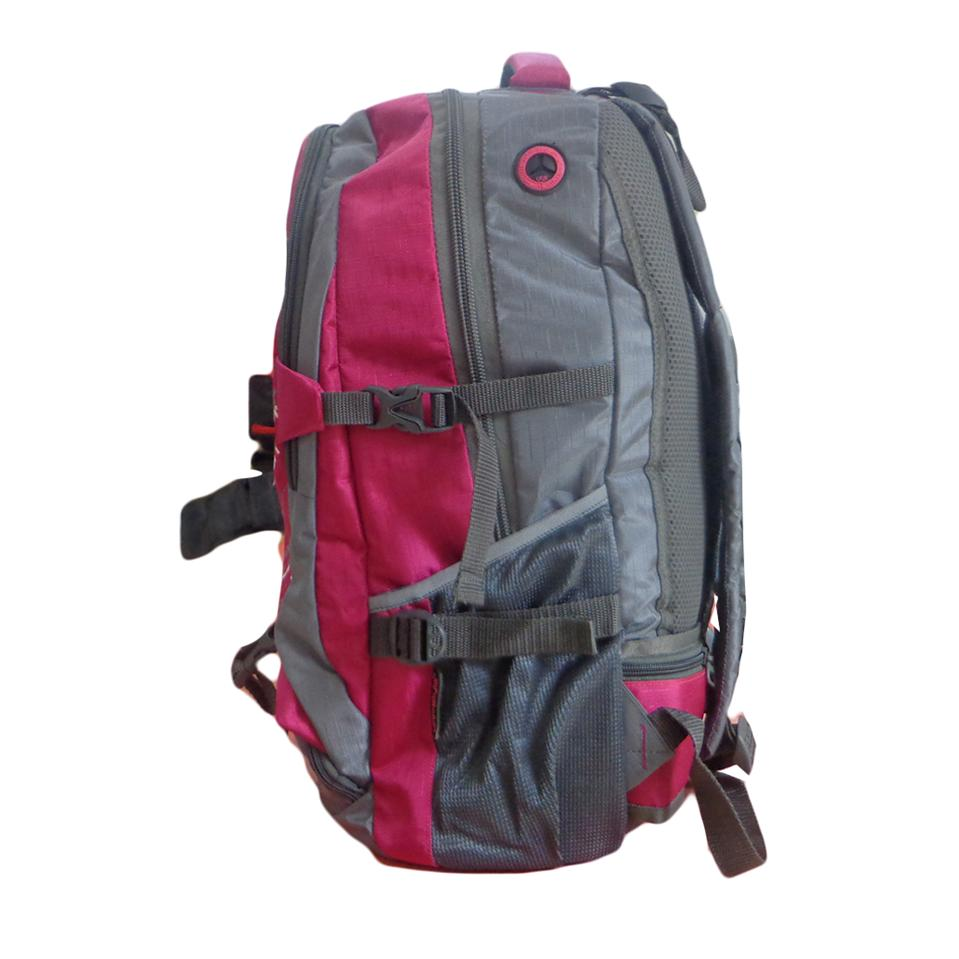 unistyle pink and grey travel backpack