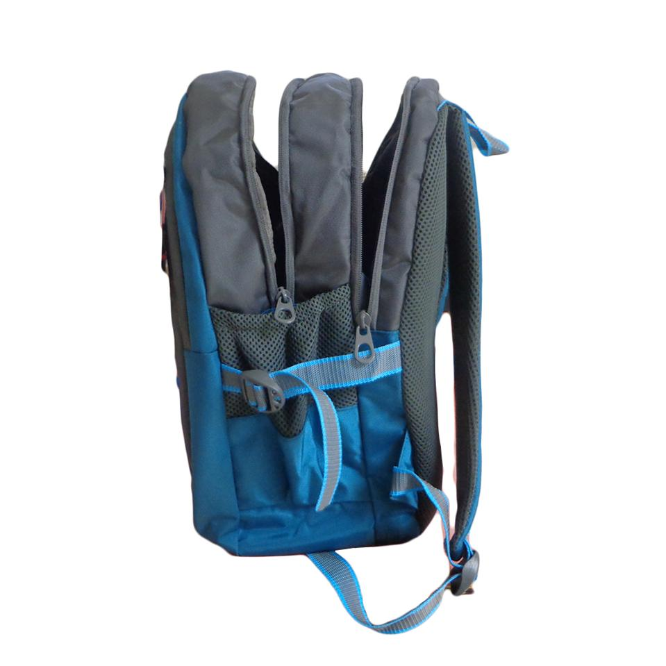 Vdm Blue And Grey Casual Backpack Buy Vdm Blue And Grey