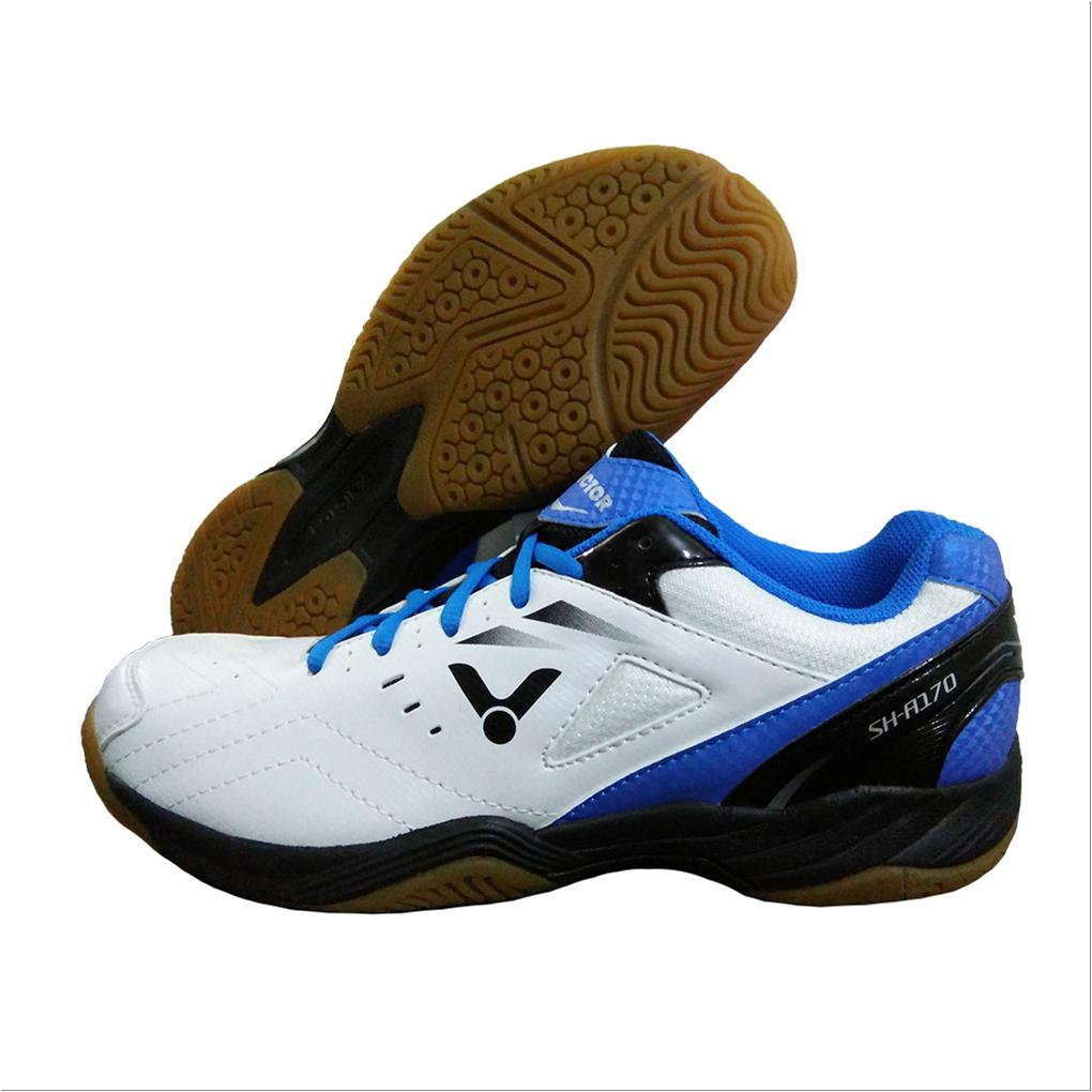 Victor Sh A170 Af Badminton Shoes White And Blue Buy