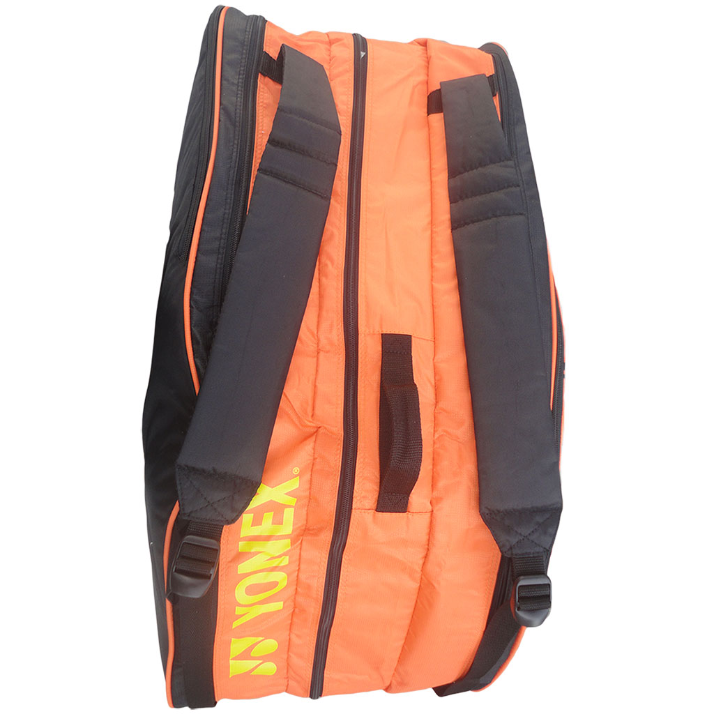 Yonex 8439 Tg Bt6 Orange Badminton Kit Bag Buy Yonex