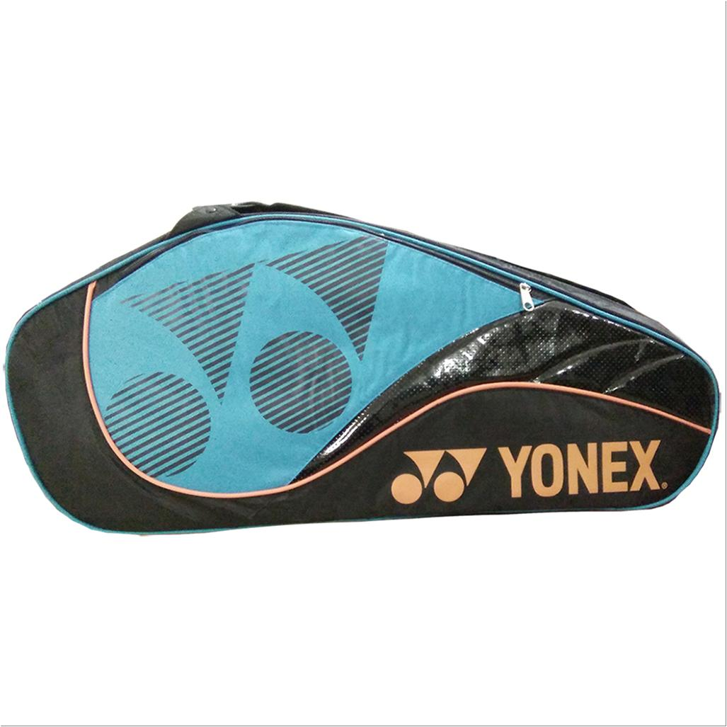 Yonex Sunr 8429 Tg Badminton Kit Bag Black And Blue Buy
