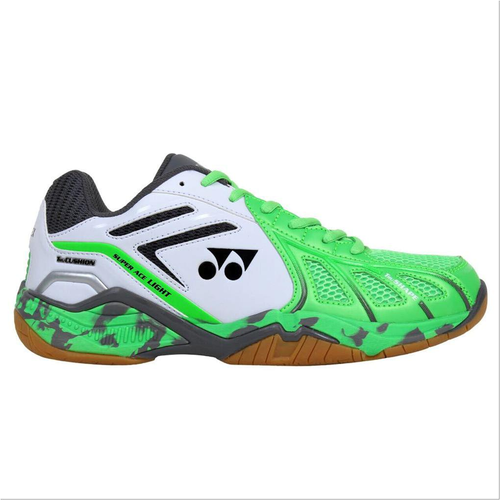 Yonex Super Ace Light Badminton Shoes Green And White
