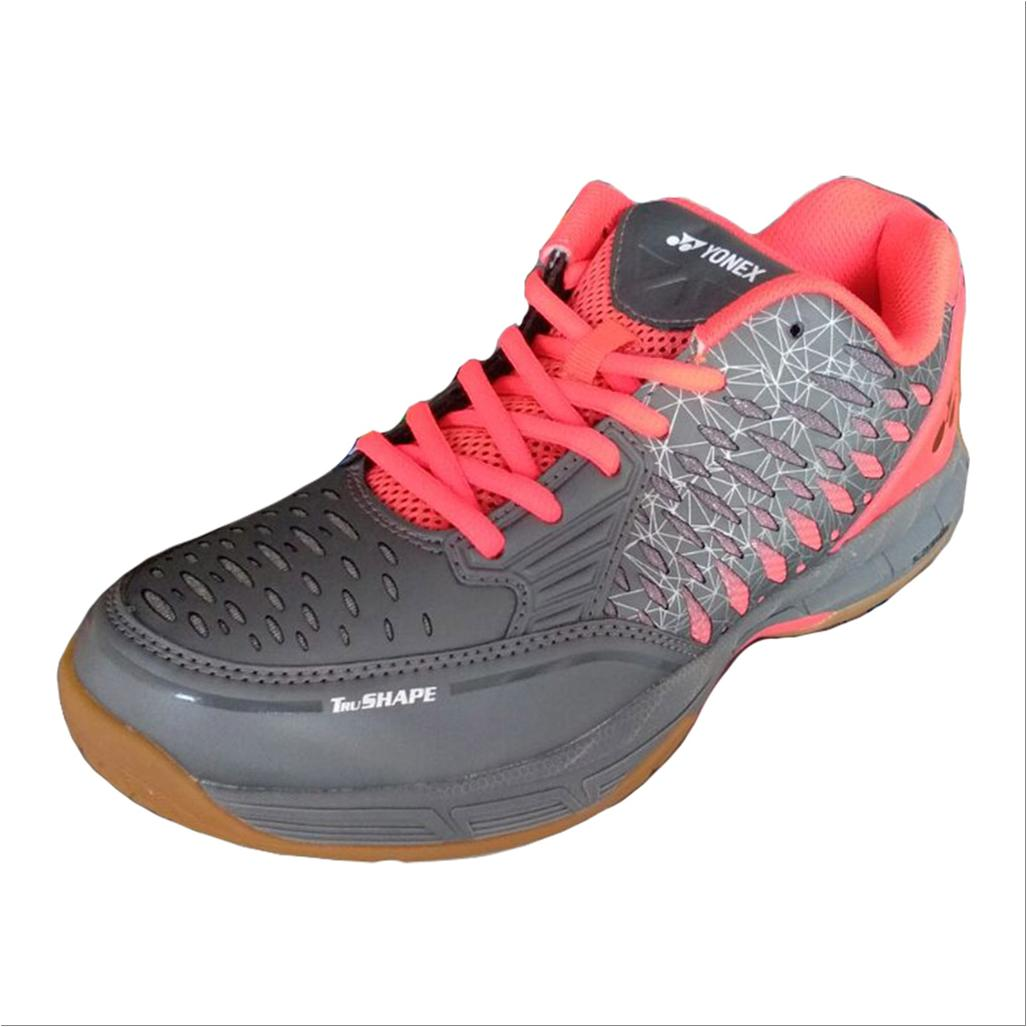 Yonex Court Ace Matrix Badminton Shoes Gray And Red Buy