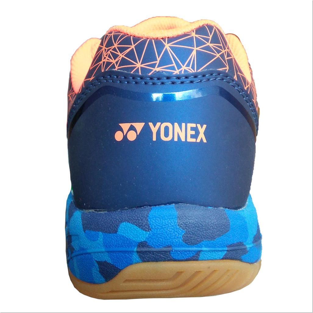Yonex Super Ace 03 Badminton Shoes Coral Red And Blue