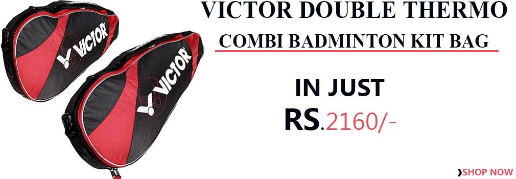 Victor Double thermo Combi Badminton Kit Bag