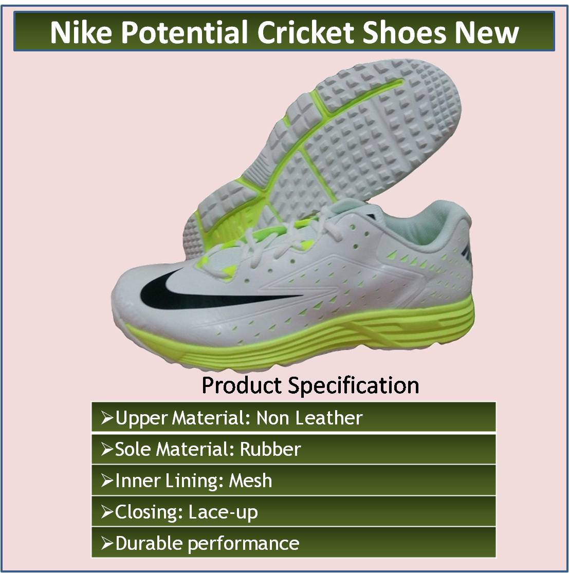 35c477880e57 nike mens nike lunar dominate mesh cricket shoes