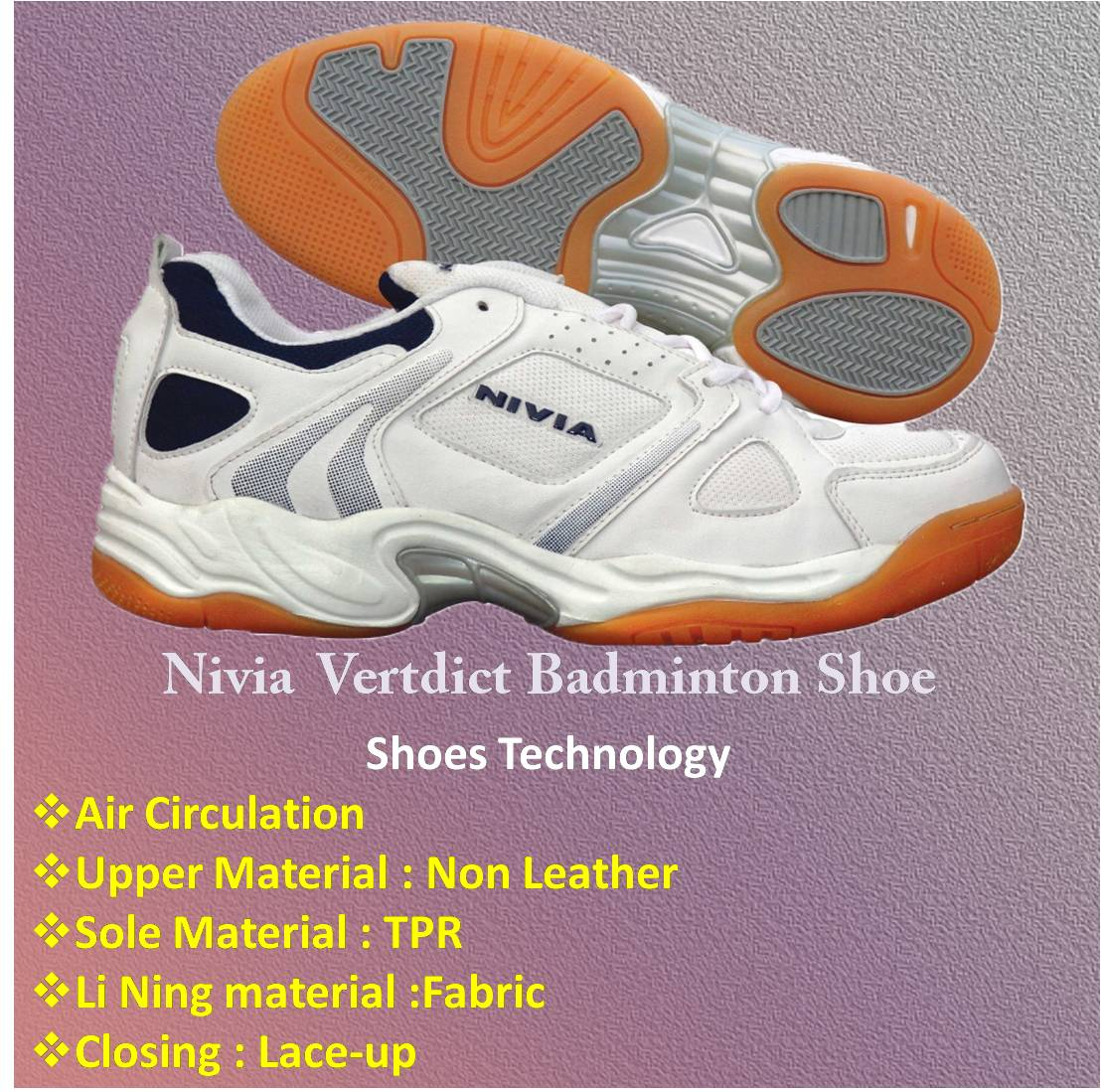 Nivia Verdict Badminton Shoes