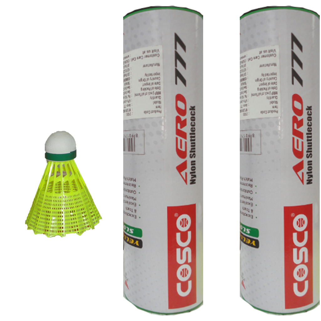 2 Boxes of Cosco AERO 777 Badminton Shuttlecock